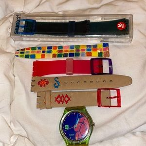 Vintage Swatch with Bands